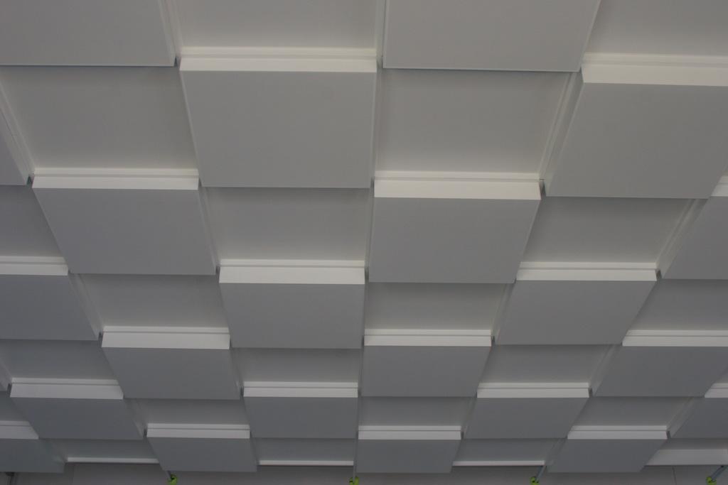 Lay-In Levels Metal Ceilings