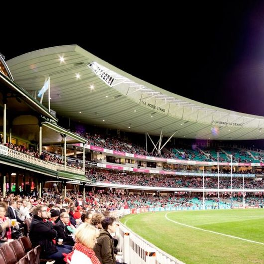 ShapeShell Monocoque at SCG – BRADMAN & NOBLE STAND