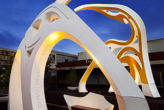 ShapeShell FreeForm at Little Saigon Welcome Arch