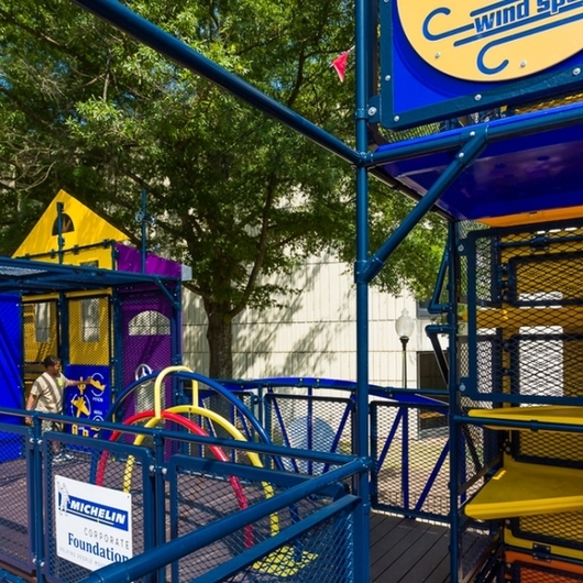 Playgrounds in The Children's Museum Of The Upstate, South Carolina