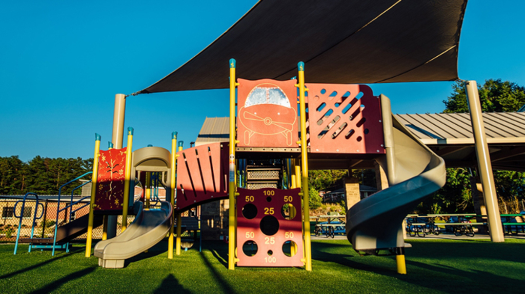 Playground at Cumming City Park