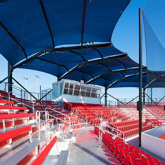 Shade Structures at USSSA Space Coast Complex in Melbourne, Fla