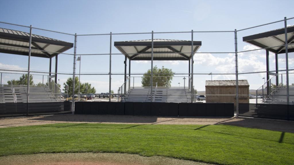 Shelter at Volcano Vista High School in Albuquerque