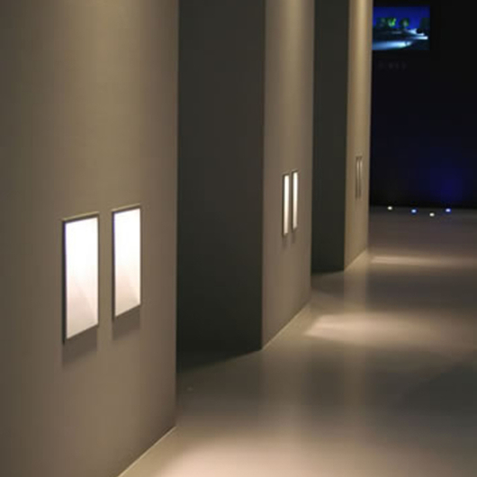 Wall Recessed Lights