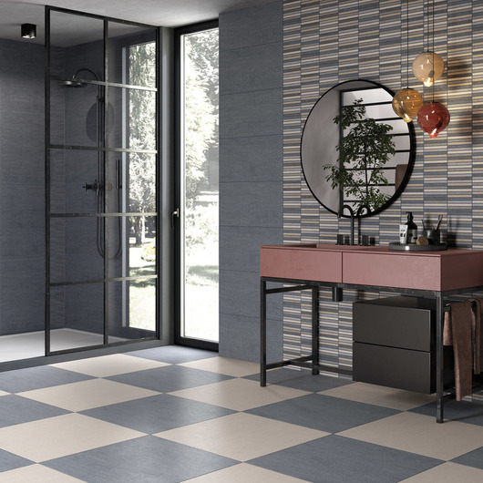 Ceramic Tile - Denim