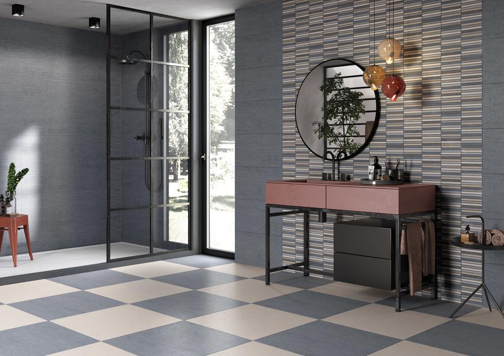 Ceramic Tile - Denim