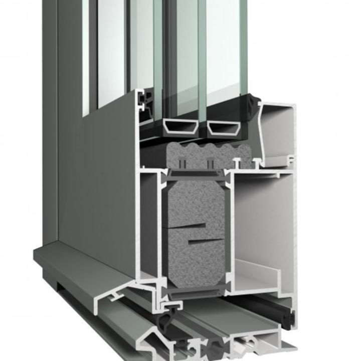 High Insulation Aluminium Doors - Masterline 8