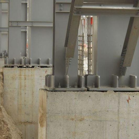 Estabilizadores- Nivelación y anclaje de estructuras