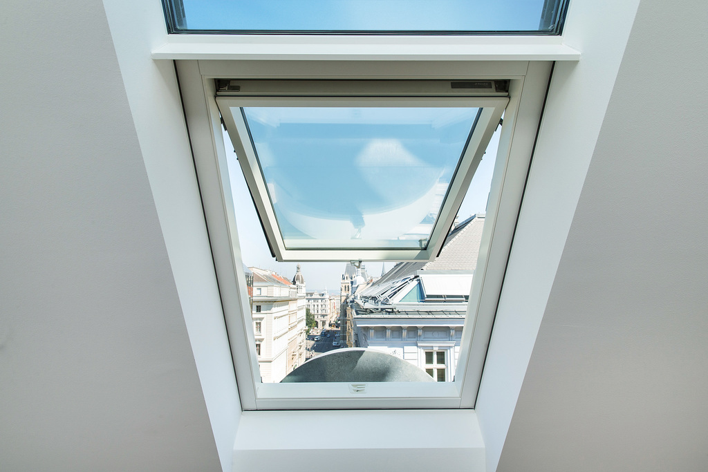 Pivot roof window FP_-V preSelect