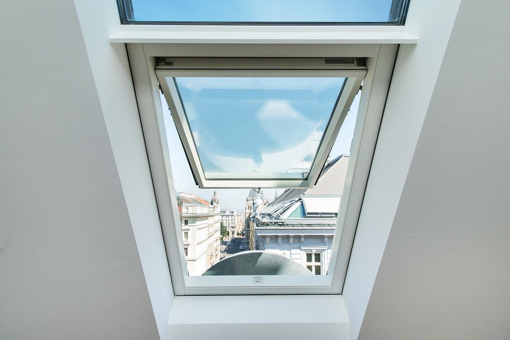 Pivot roof window FP_-V preSelect