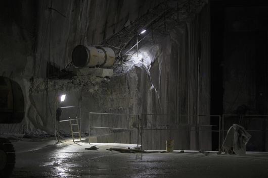 Extracción de mármol