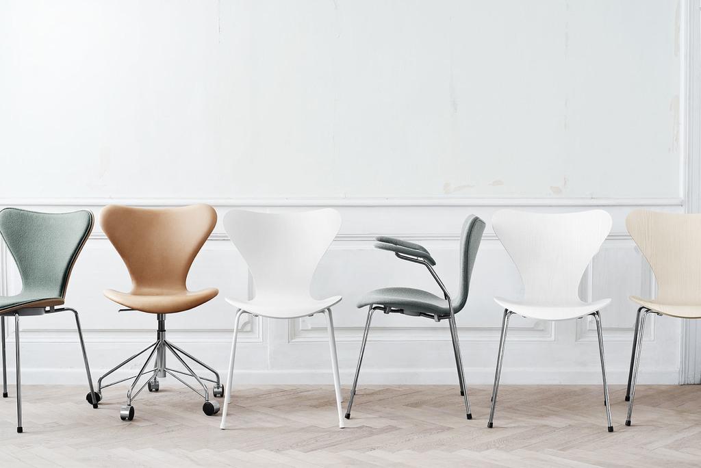 series 7 chair from fritz hansen