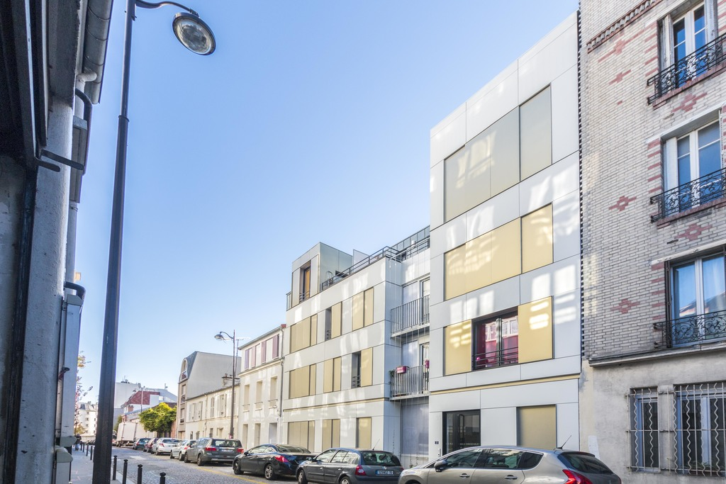 Cladding Panels for Lightweight Facades in Apartment Block