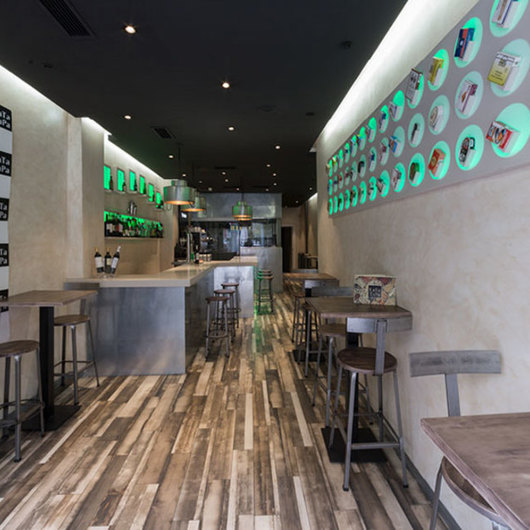 Revestimientos de Superficie KRION® en Restauraciones / Porcelanosa Grupo