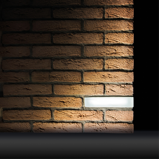 Wall Recessed Lights - Brick