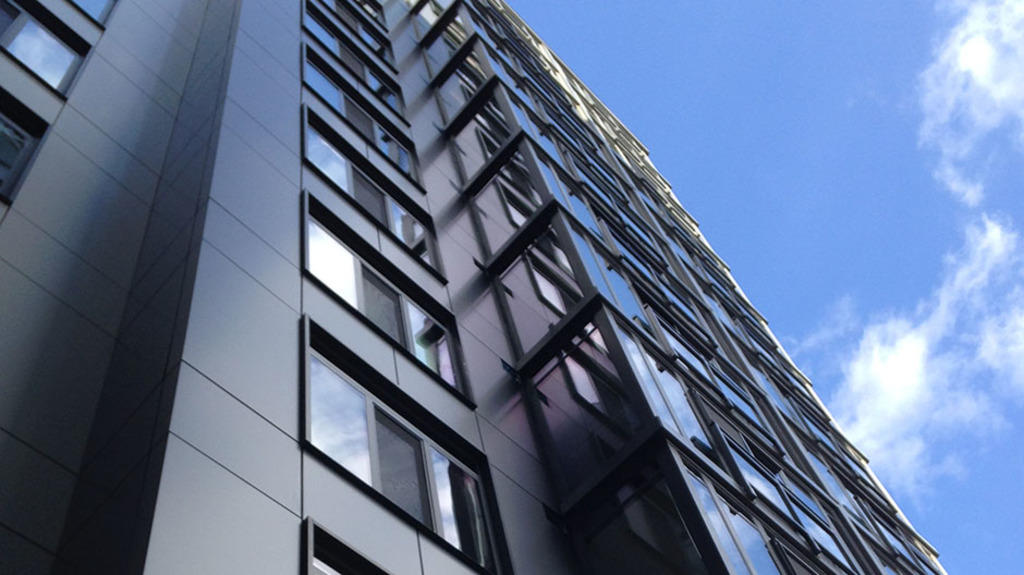 ACM Panels in the Lyric 440K Apartments