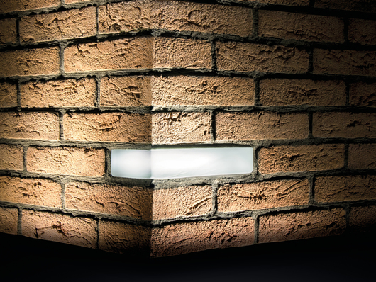 Brick - Wall Recessed Lights