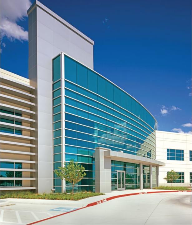Vitro Products in Transwestern Gateway Corporate Center