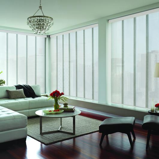 Panel Oriental / Hunter Douglas Window Covering