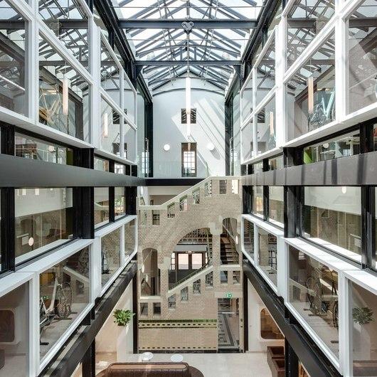 Floors in Gazelle Headquarters