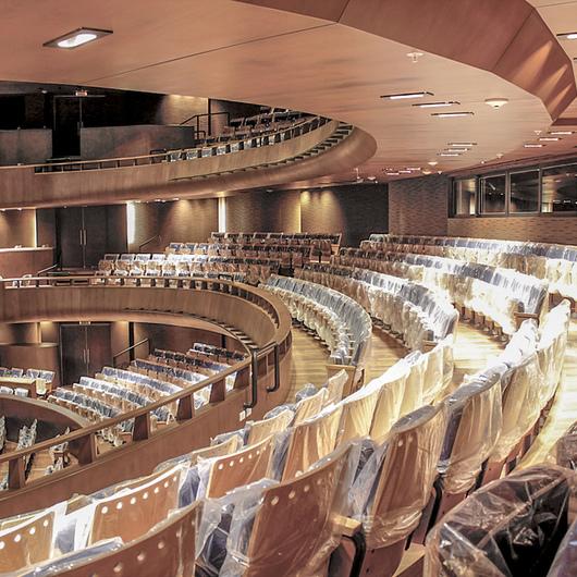 Adhesivos Sika en el  Gran Teatro Nacional