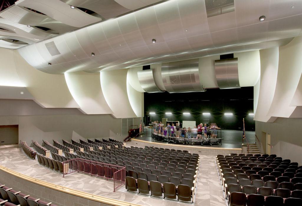 Ceiling System - Radians® – Curving Modular Panels