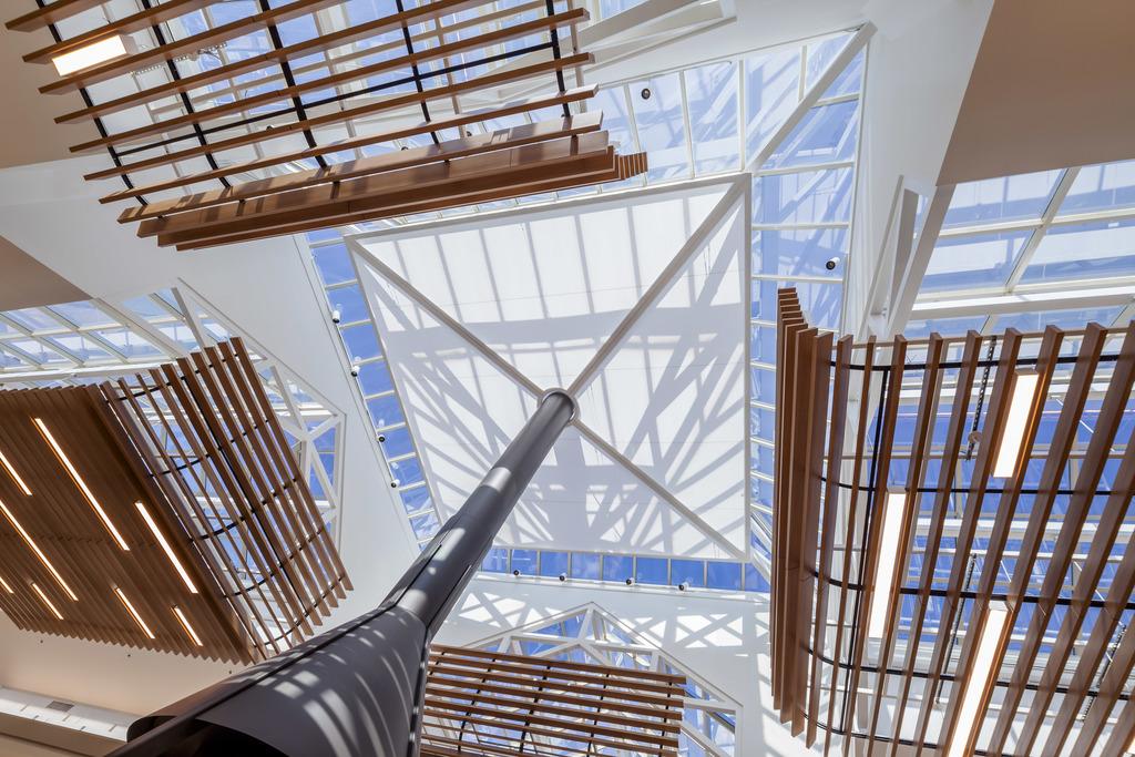 Ceiling and Wall Panels - Saranté Finish – Faul-Wood Veneer