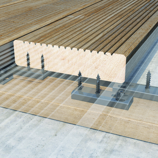Conectores para terraços e fachadas TERRALOCK e VERTILOCK