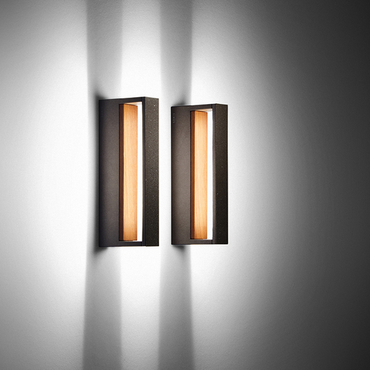 Wall Effect Lights / Bollards - Wood Collection / SIMES