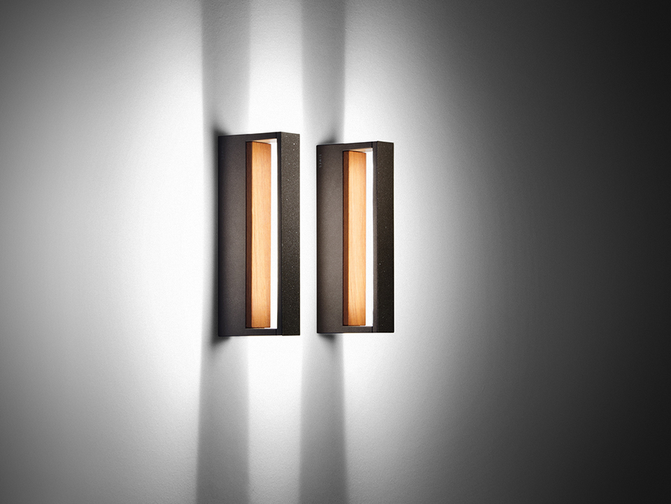 Wall Effect Lights / Bollards - Wood Collection