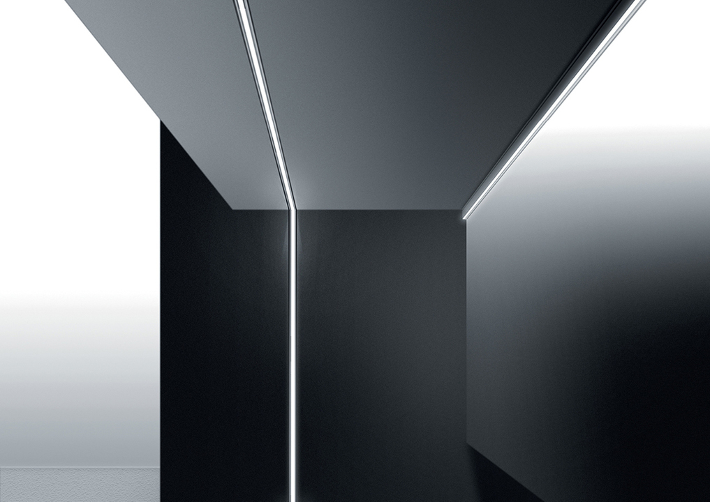 Wall Recessed - Continuous Rod