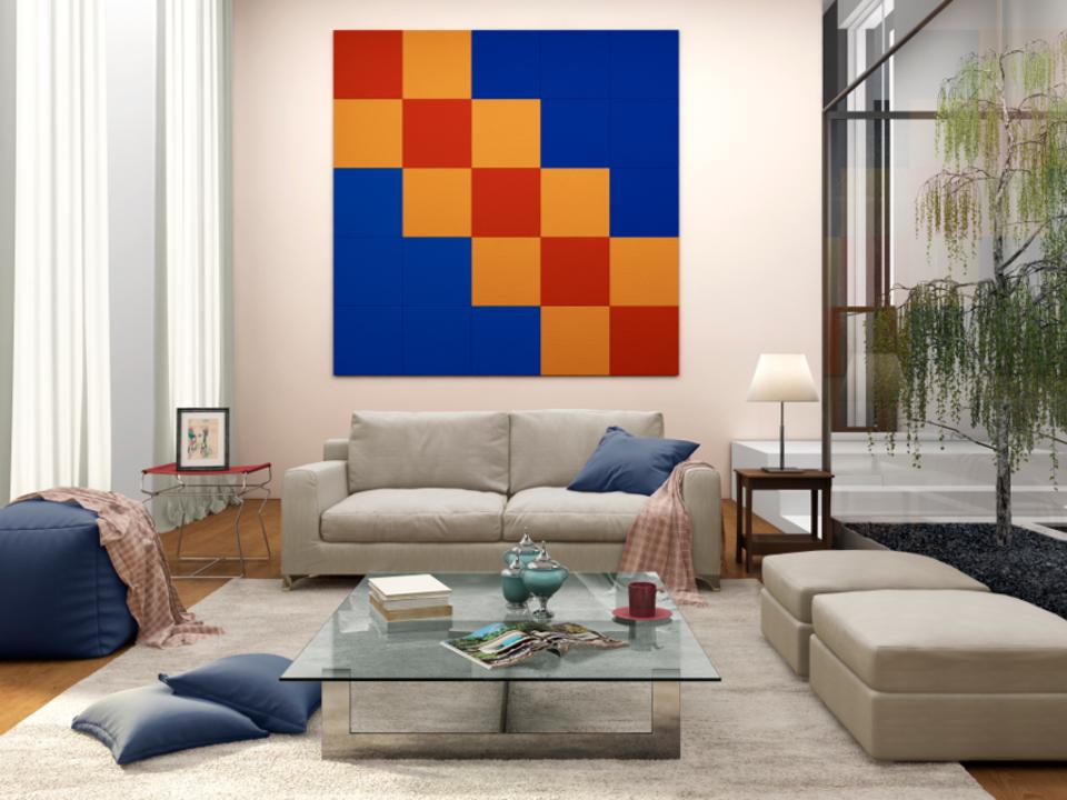 Painéis absorventes sonoros Sonare & Decorsound para revestimento de paredes - Isover