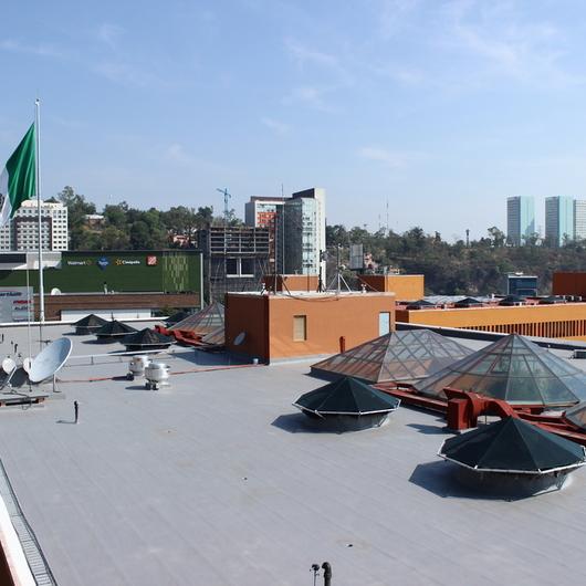 Utilización de a3p Imperllanta en Edificio Televisa