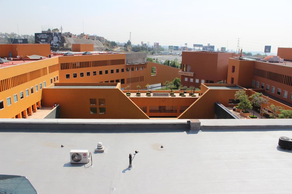 Impermeabilizante a3p Imperllanta en Edificio Televisa
