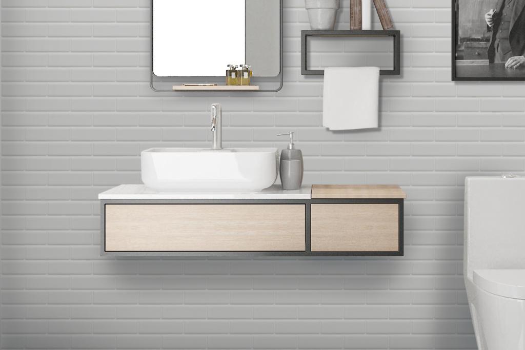 Galeria de Mueble de baño Limit / Wasser - 2