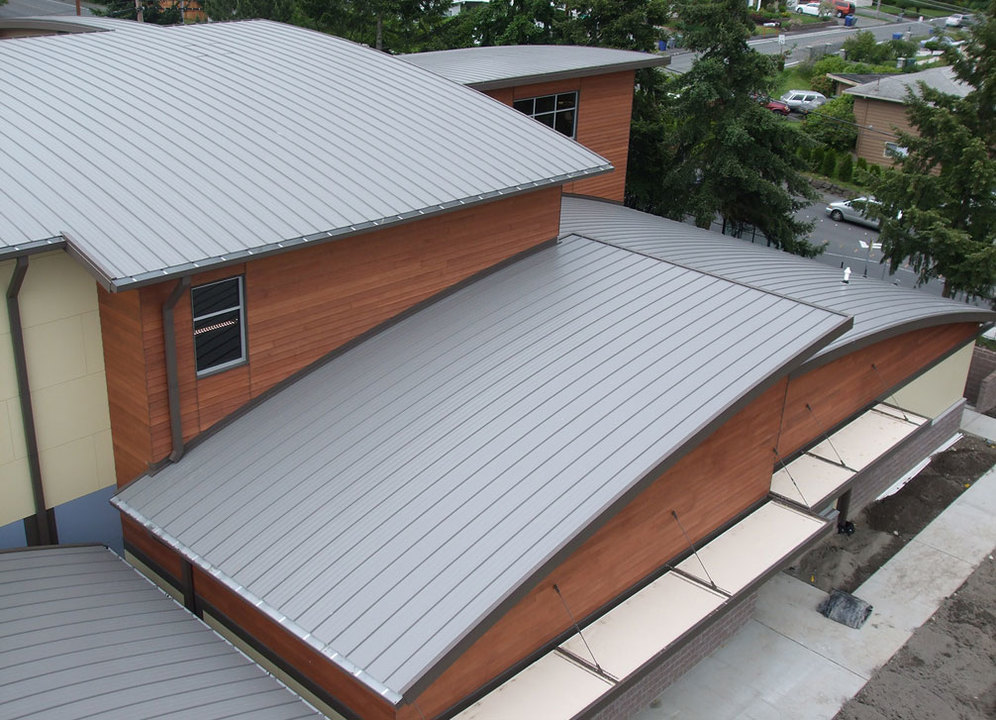 Metal Roof System - Select Seam: Wide & Narrow Batten