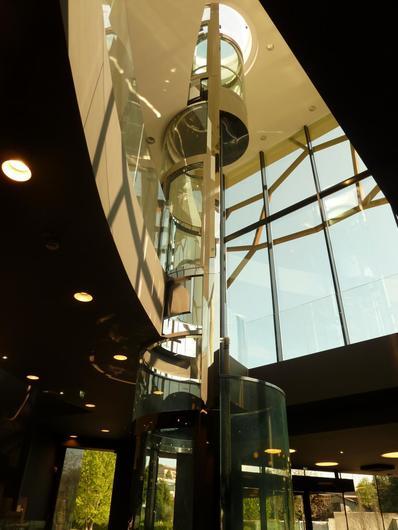 Panoramic Round Elevator