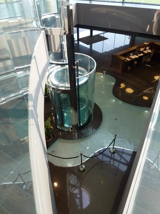 Round Panoramic Elevator