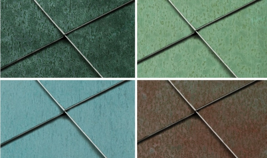 Copper Surface - Patina_Variations