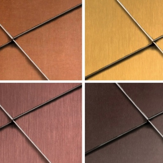 Copper Surface - Brass_brownished / TECU®