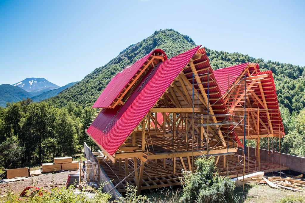 Estructuras de madera laminada en viviendas de timber - Estructuras de madera laminada ...