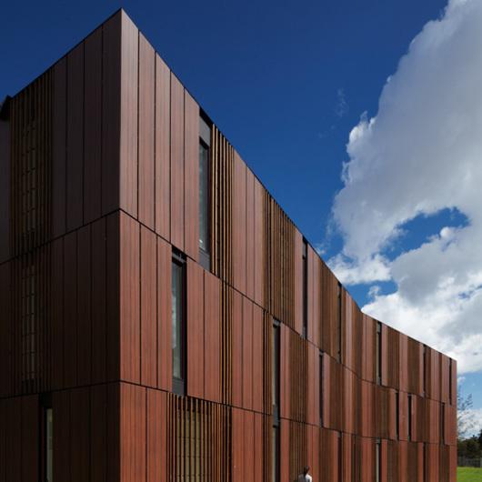 Plastic facades Panelex / Lamitech