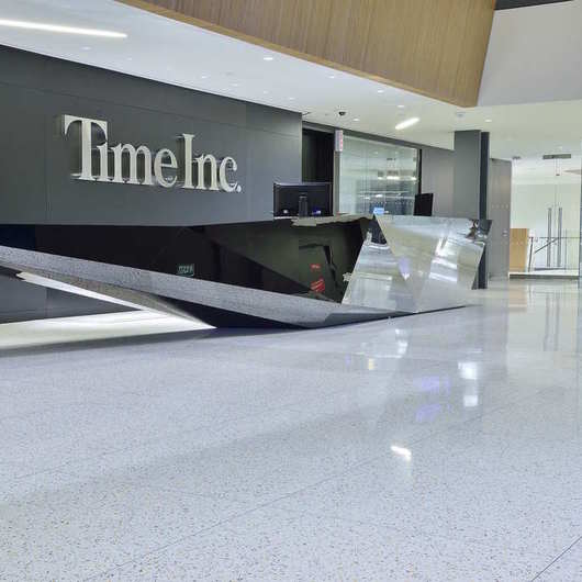Terroxy Resin Systems in Office Buildings / Terrazzo & Marble
