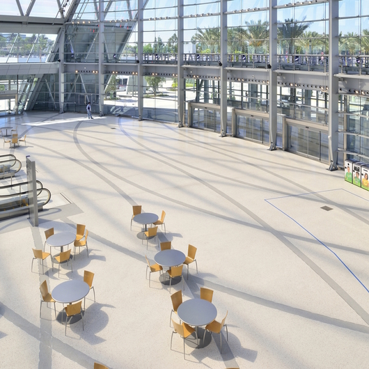 Terroxy Resin Systems in Convention Centers & Transit / Terrazzo & Marble