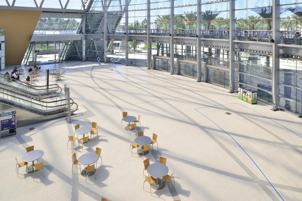 Terroxy Resin Systems in Convention Centers & Transit