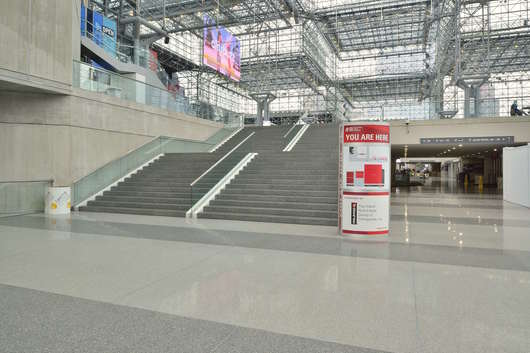 Terroxy Resin Systems in the Jacob Javits Convention Center