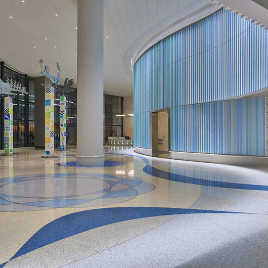 Anti-Bacterial Terroxy Resin Systems in Hospitals / Terrazzo & Marble