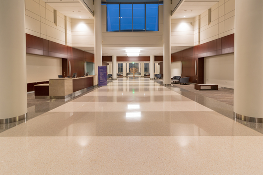 Terroxy Resin Systems In Hospitals From Terrazzo Marble