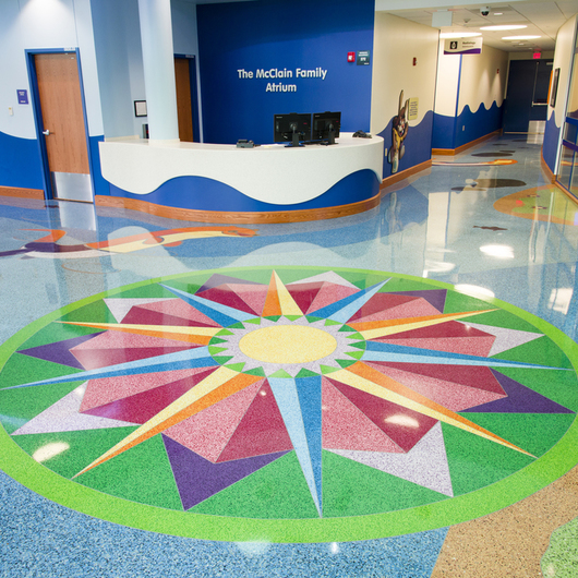 Terroxy Resin Systems in Hospitals / Terrazzo & Marble