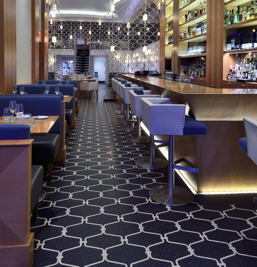 Terroxy Resin Systems In Hotels Restaurants From Terrazzo